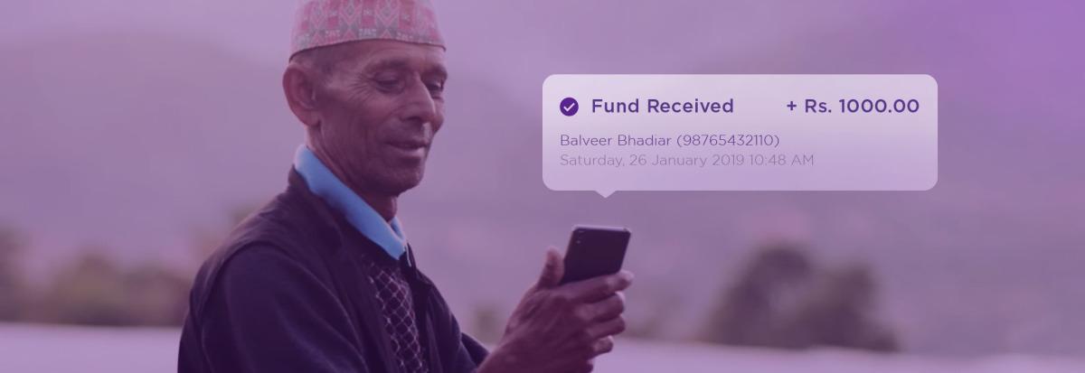 Send and request fund Khalti