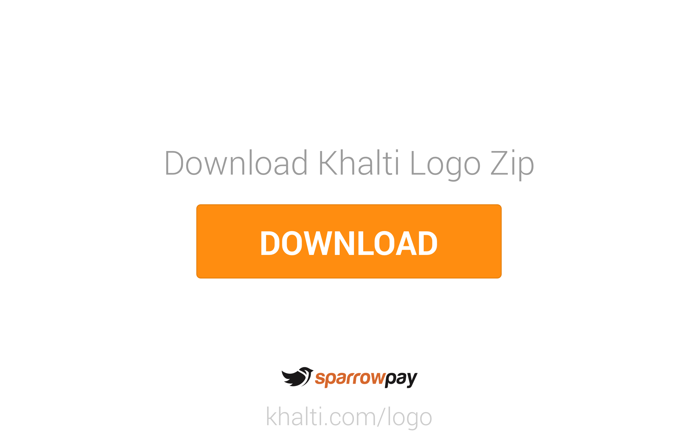 Khalti Logo Download Zip File